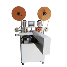Automatic Flat Cable Double-Side Terminal Crimping Machine