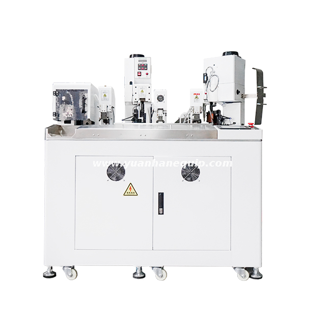 Wire Single End Heat-shrink Tubing Inserting and Terminal Crimping Machine