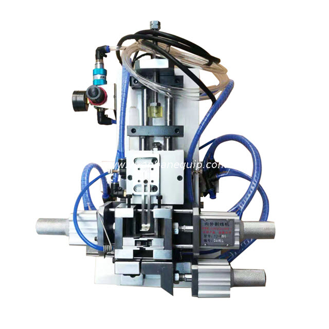Pneumatic Cable Outer Jacket and Core Wires Stripping Machine