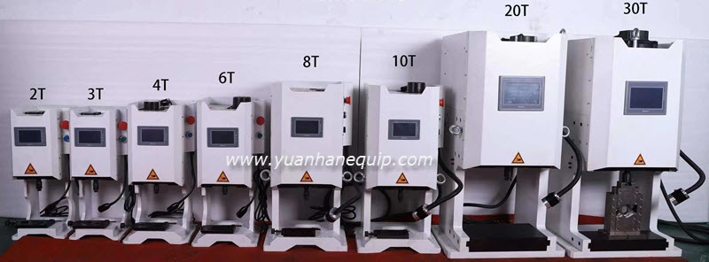 Servo Motor Driven Cable Lugs Crimping Machine