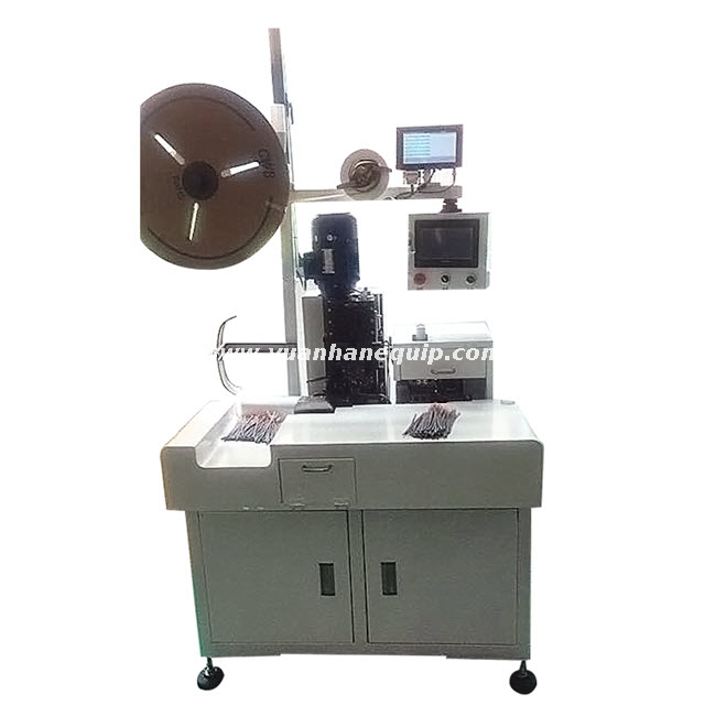 Multi-core Round Sheathed Cable Lugs Crimping Machine