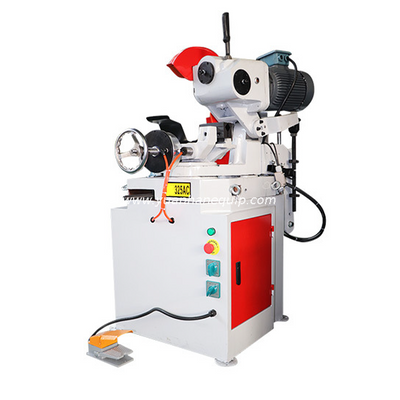 Semi-automatic Angle Iron Metal Pipe Cutting Machine