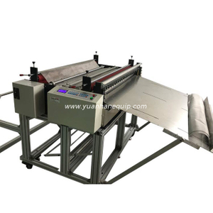 Stainless Steel Woven Wire Mesh Cutting Machine