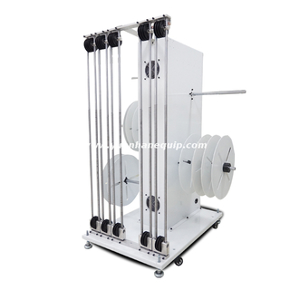 Fully Automatic Four Reels Wire Prefeeder Machine