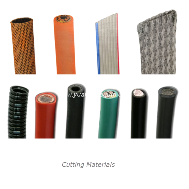 Cutting Machine for Heat Shrink Tubes Plastic Sleeves