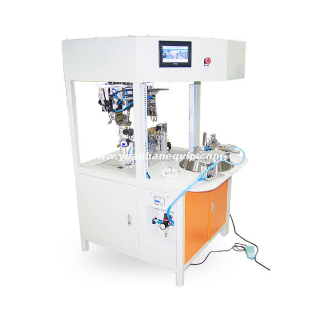 Fully Automatic Cable Round Coil Winding and Bundling Machine
