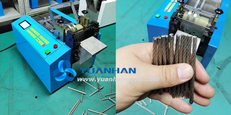 Automatic Aircraft Cable Cutting Machine