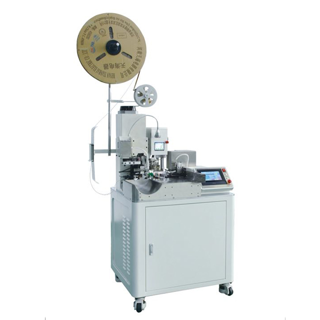Fully Automatic One End Seal Insertion and Wire Lugs Crimping Machine