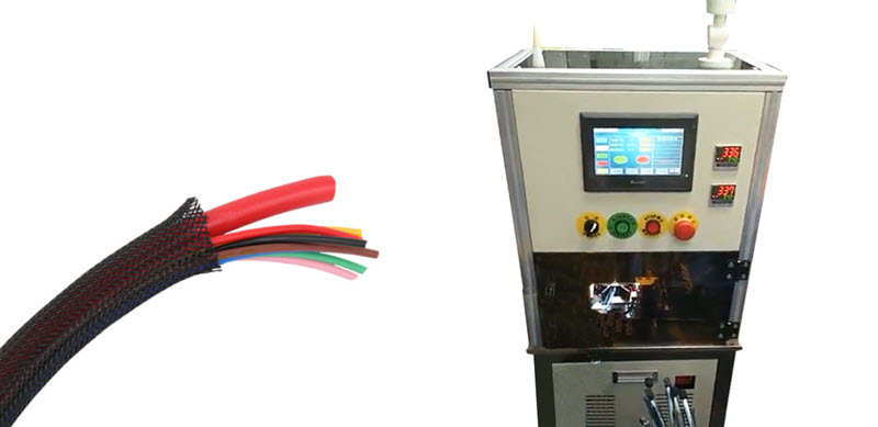 Wire and Cable Braided Sleeving Wrap-around Threading Machine YH-BZ1
