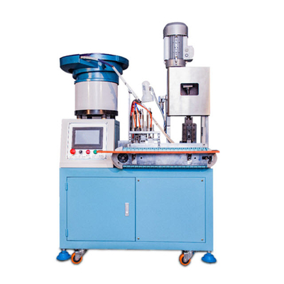 Automatic European Power Cord Plug Riveting Press Machine