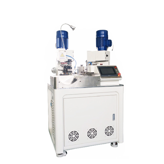 Fully Automatic Single Wire Two-end Insulated Ferrules Crimping Machine